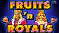 Fruits And Royals онлайн игровой аппарат